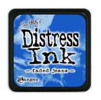 Tim Holtz Distress Mini Ink Pads - Faded Jeans by Ranger