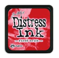 Tim Holtz Distress Mini Ink Pads - Fired Brick by Ranger
