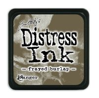 Tim Holtz Distress Mini Ink Pads - Frayed Burlap by Ranger