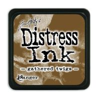 Tim Holtz Distress Mini Ink Pads - Gathered Twigs by Ranger