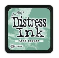 Tim Holtz Distress Mini Ink Pads - Iced Spruce by Ranger