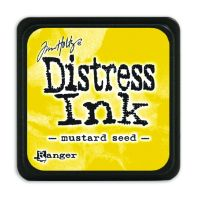 Tim Holtz Distress Mini Ink Pads - Mustard Seed by Ranger