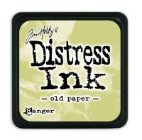 Tim Holtz Distress Mini Ink Pads - Old Paper by Ranger
