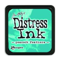 Tim Holtz Distress Mini Ink Pads - Peacock Feathers by Ranger