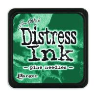 Tim Holtz Distress Mini Ink Pads - Pine Needles by Ranger