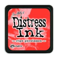 Tim Holtz Distress Mini Ink Pads - Ripe Persimmon by Ranger