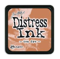 Tim Holtz Distress Mini Ink Pads - Tea Dye by Ranger