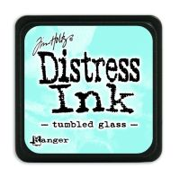 Tim Holtz Distress Mini Ink Pads - Tumbled Glass by Ranger