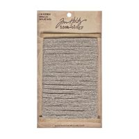 Tim Holtz Idea-Ology Linen Ribbon - Neutral