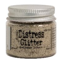 Tim Holtz Antique Linen Distress Glitter (1 oz)
