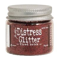 Tim Holtz Fired Brick Distress Glitter (1 oz)