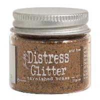 Tim Holtz Tarnished Brass Distress Glitter (1 oz)