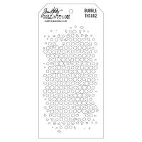 Stamper Anonymous Bubble Stencil - Layering Stencil