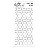 Stamper Anonymous Honeycomb Stencil - Layering Stencil