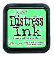 Cracked Pistachio Distress Ink Pad by Ranger - Tim Holtz Distress Ink January Color Of The Month