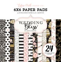 Echo Park Wedding Bliss 6x6 Paper Pad