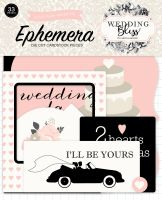 Echo Park Wedding Bliss Ephemera