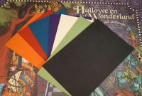 Hallowe'en in Wonderland coordinating Card Stock selected by FotoBella (14 sheets)