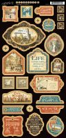 Graphic 45 Cityscapes Decorative Chipboard