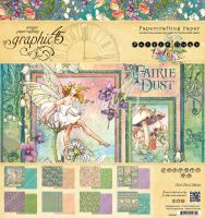 Graphic 45 Fairie Dust 8x8 Pad