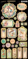 Graphic 45 Fairie Dust Chipboard
