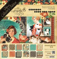 Graphic 45 Raining Cats and Dogs Deluxe Collector's Edition