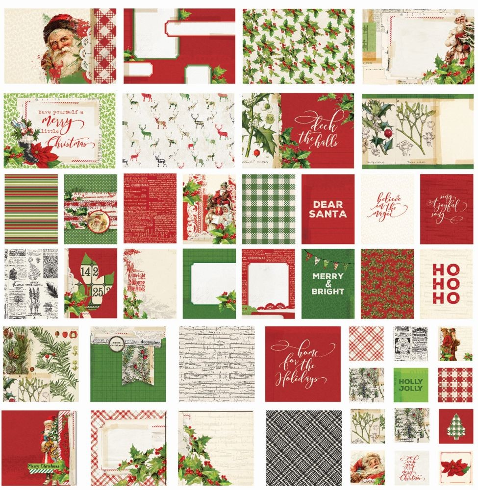 Simple Stories Simple Vintage Christmas SN@P! Cards