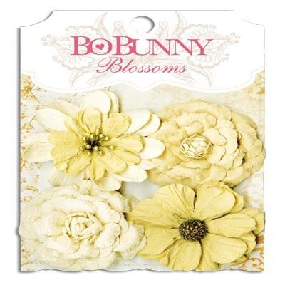 Bo Bunny Natural Earth Zinnia