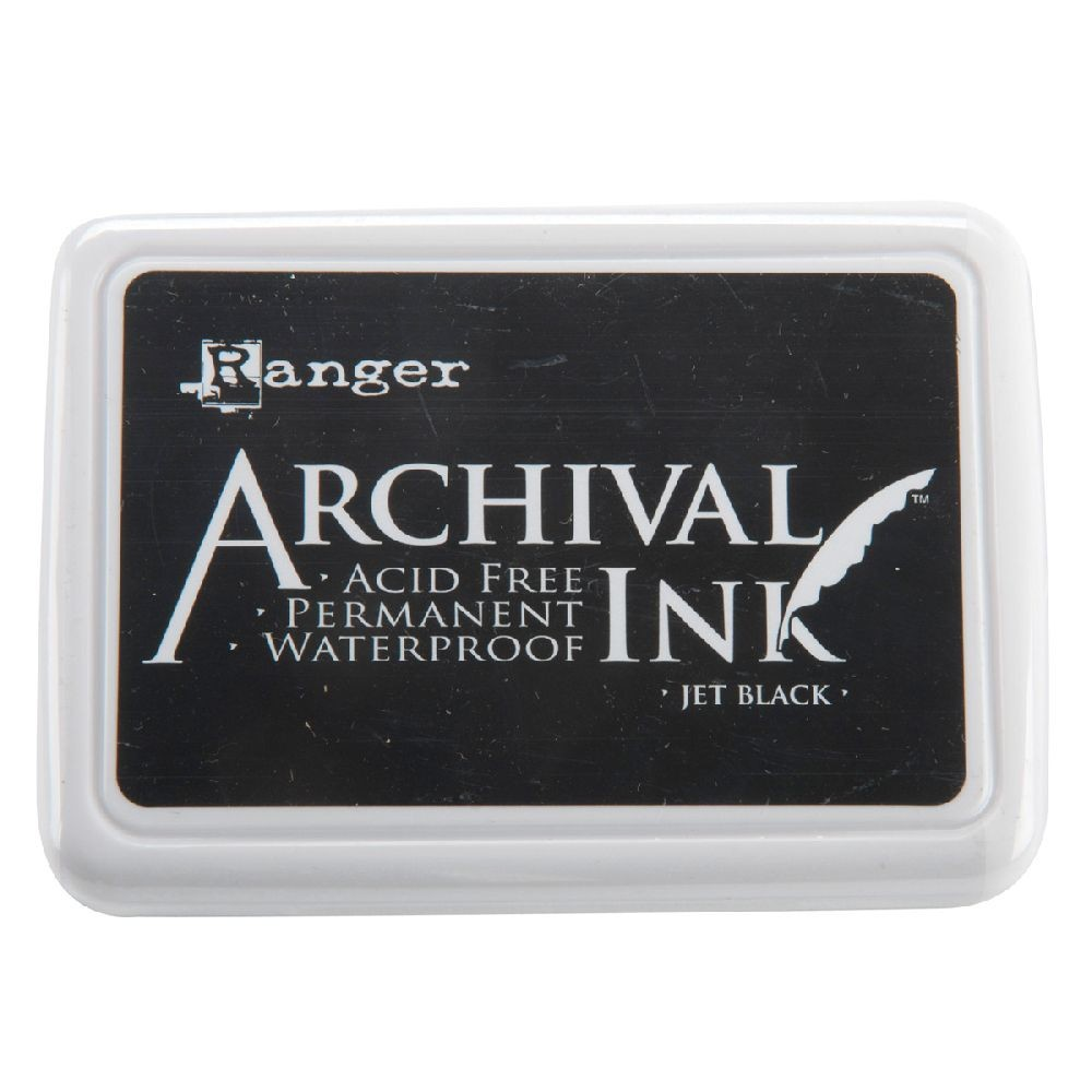 Ranger Archival Ink Pad #0-jet Black