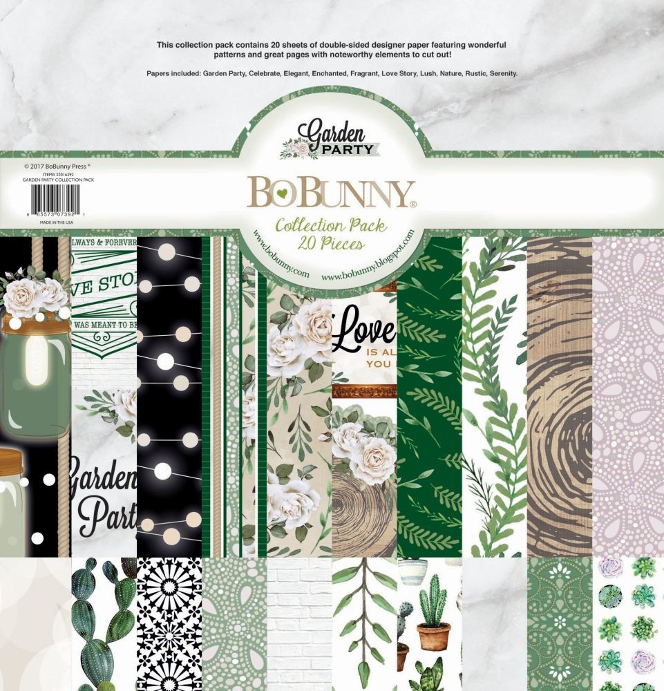 Bo Bunny Garden Party Collection Pack