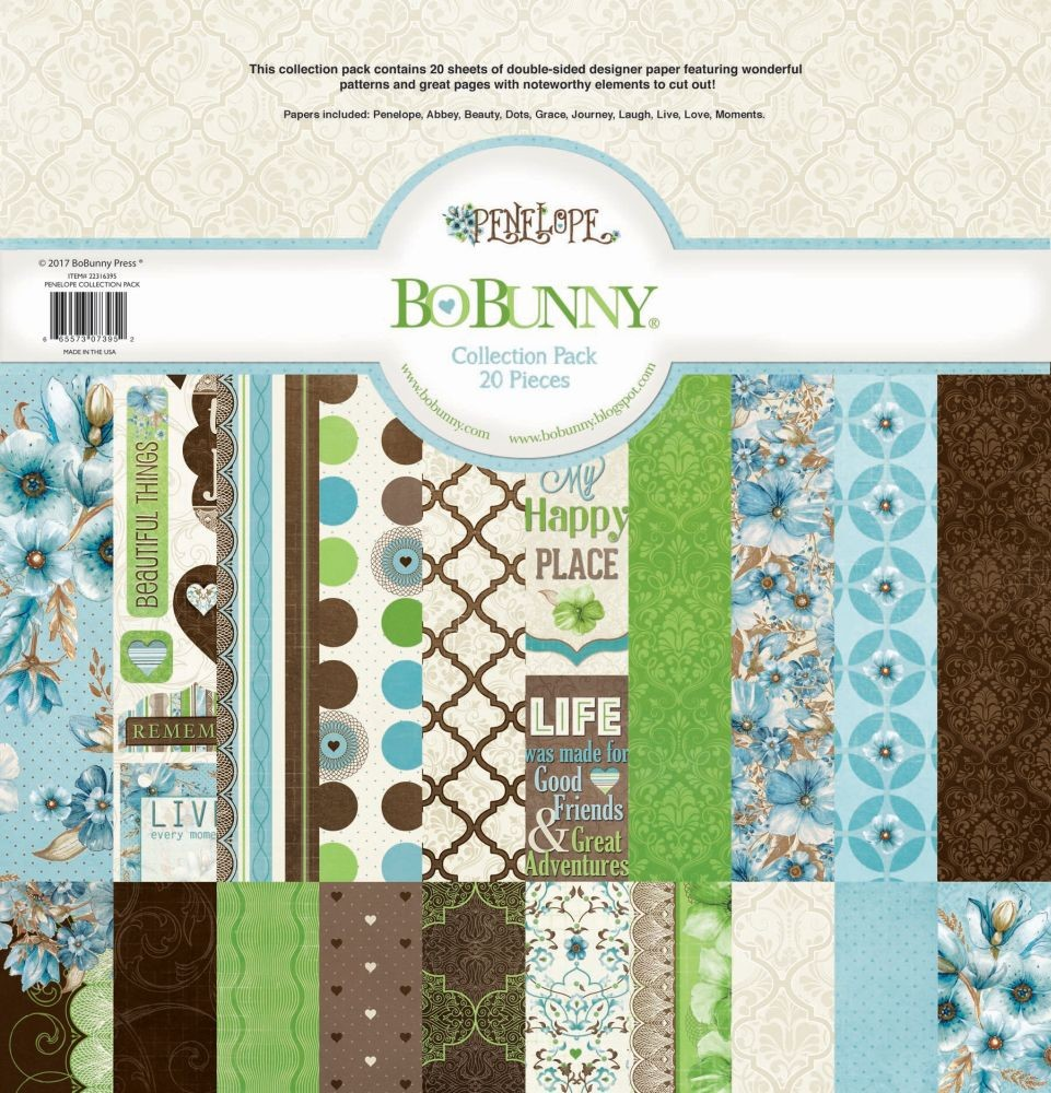 Bo Bunny Penelope 12X12 Collection Pack
