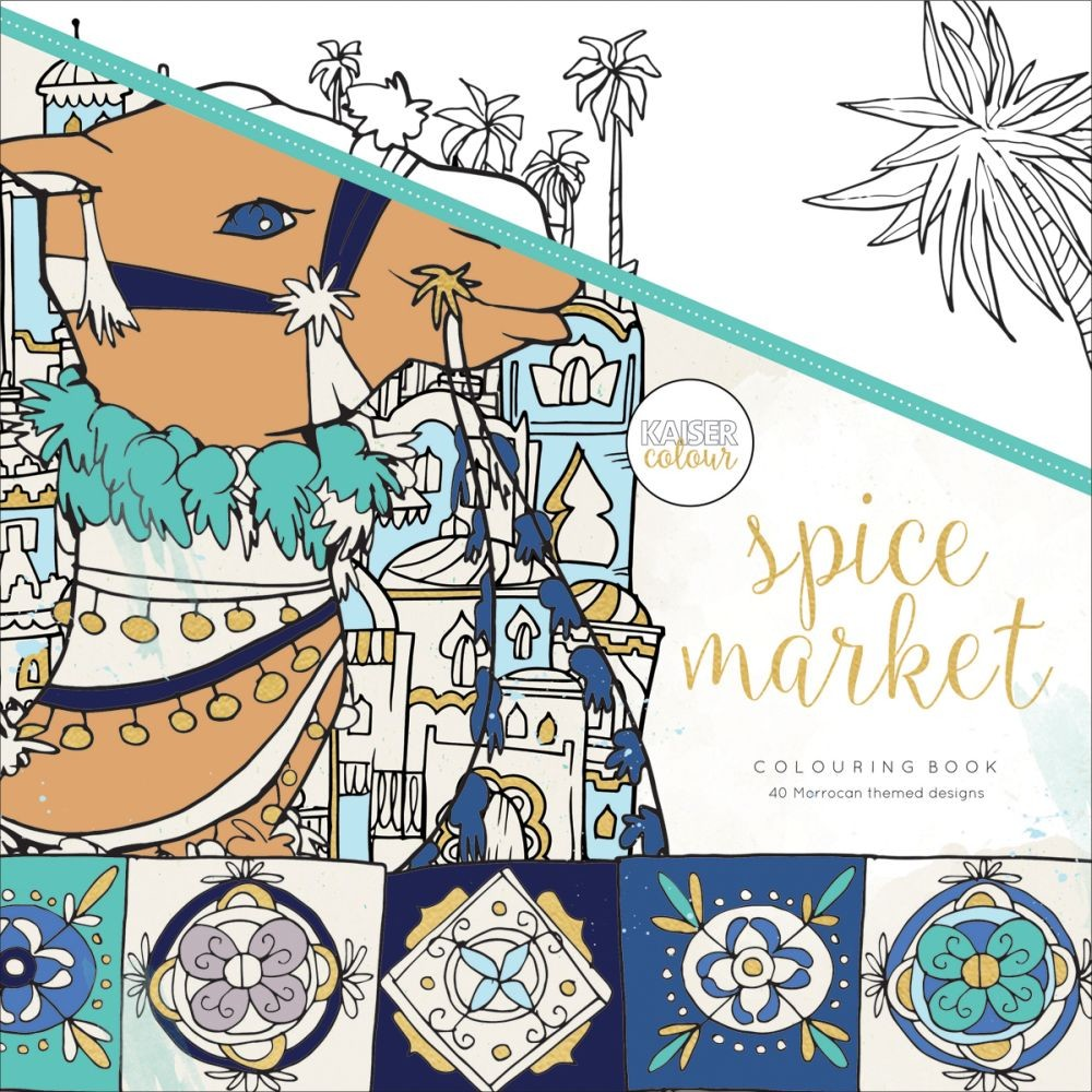 KaiserCraft Kaisercolour Perfect Bound Coloring Book - Spice Market