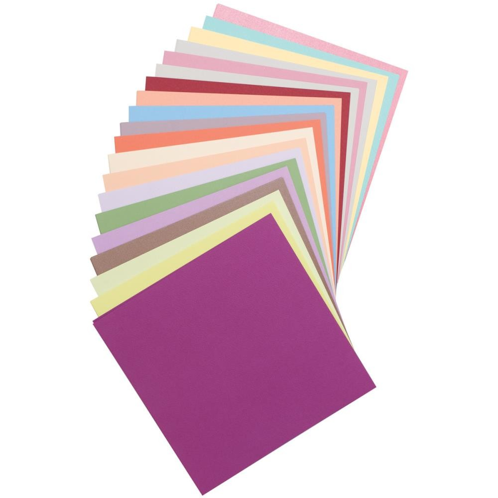 Bazzill Basics Assorted Cardstock 100 sheets