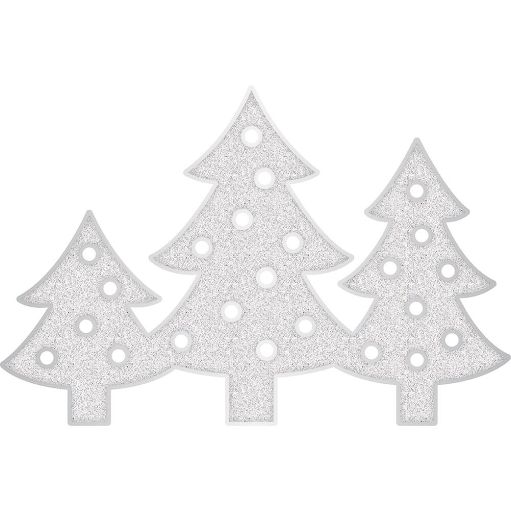 American Crafts Heidi Swapp Marquee Love Plastic Shape Kit - Christmas Trees