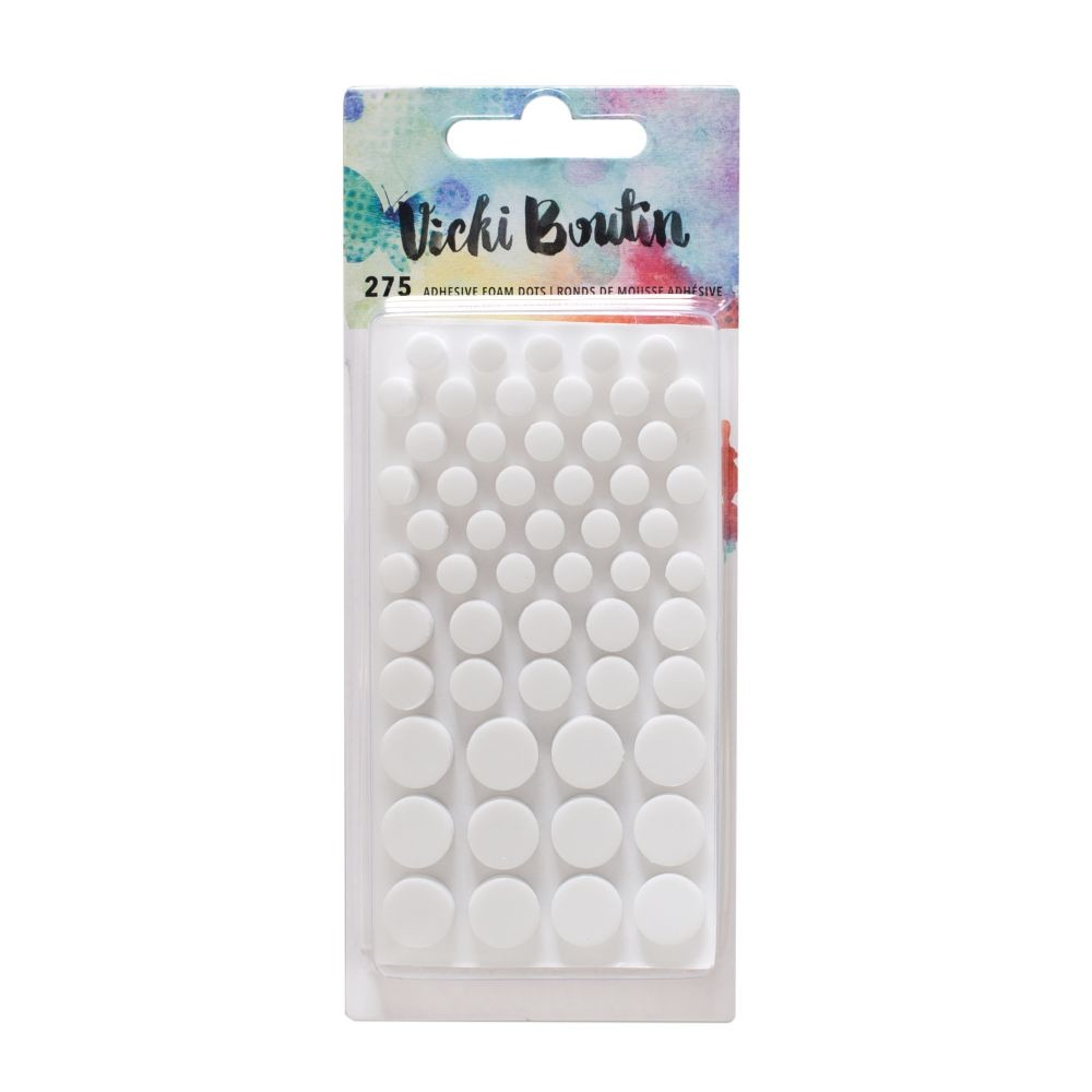 American Crafts Vicki Boutin Mixed Media - Foam Dots - (275 Piece)