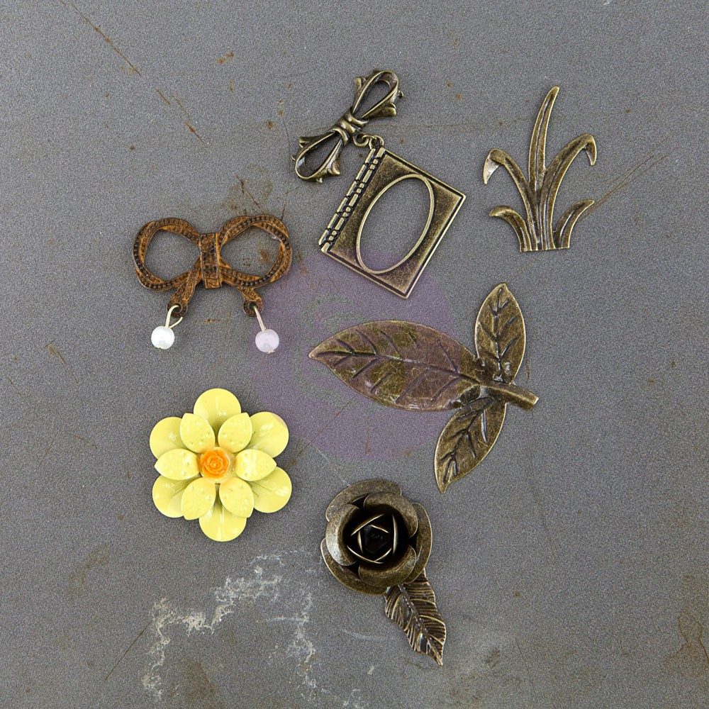 Prima Marketing Timeless Memories - Metal Trinkets - Recollection