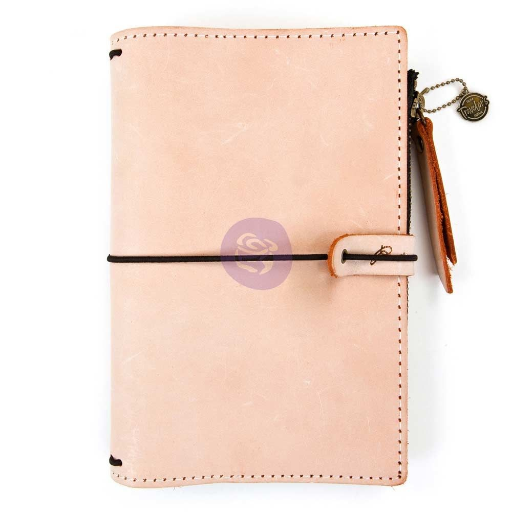 Prima Marketing Prima Traveler's Journal Leather Essential - Peach