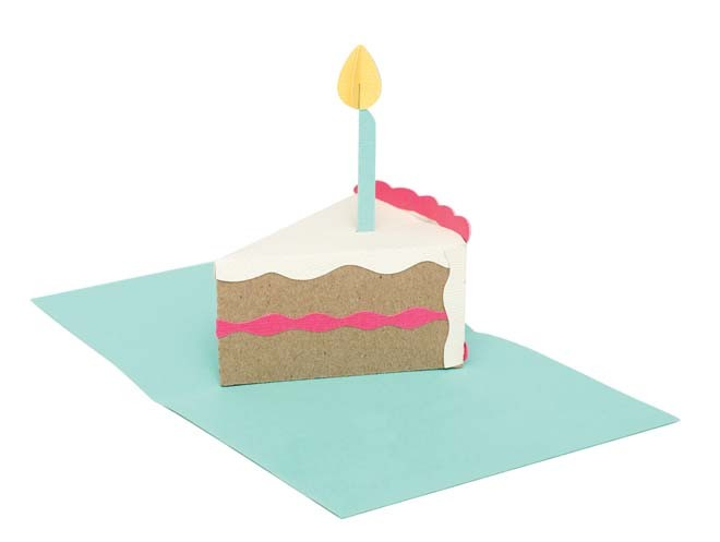 Popup Birthday Cake Die by We R Memory Keepers for Scrapbooks – Pop Up Birthday Cake Card