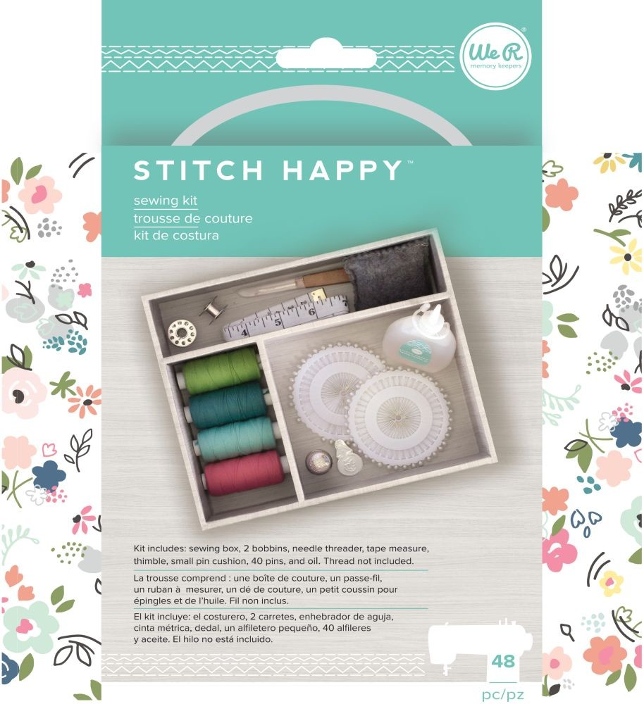 We R Memory Keepers Stitch Happy Accessories - Tool Kit - (11 Piece)