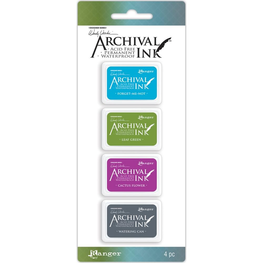 Ranger Wendy Vecchi Mini Archival Ink Pads Kit 2