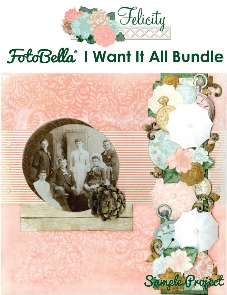 Bo Bunny Felicity I Want It All! 12x12 Collection Bundle
