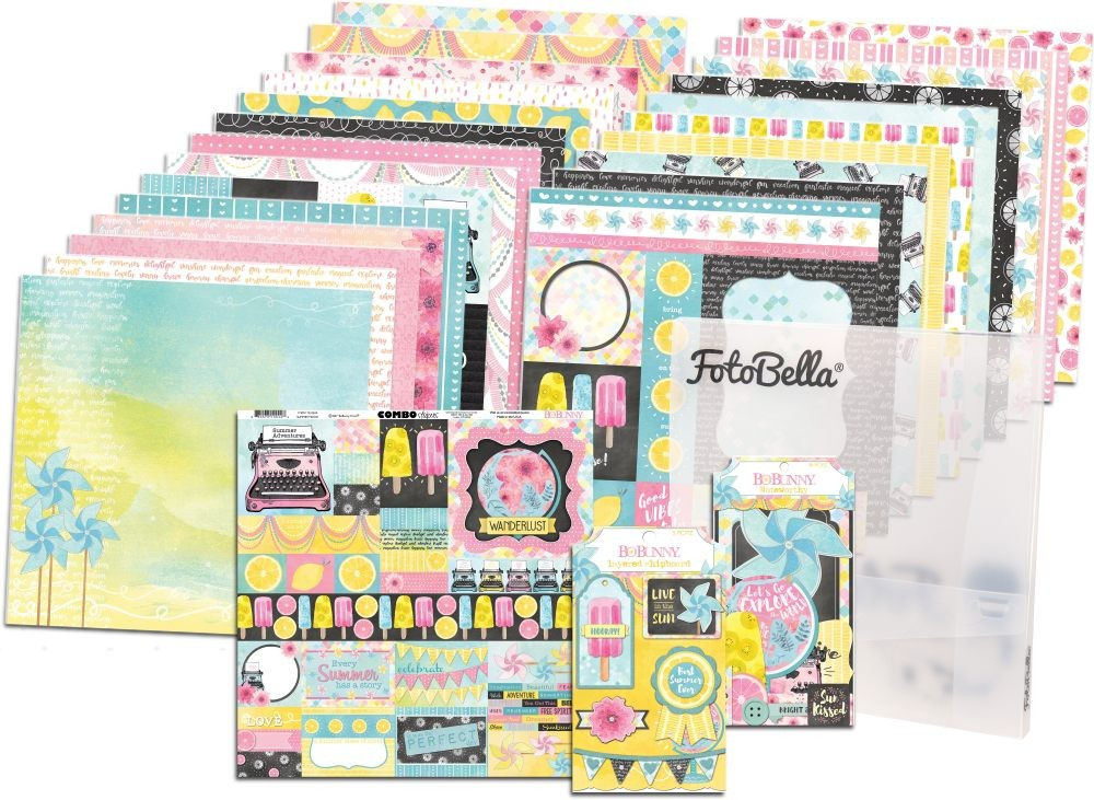 Bo Bunny Summer Mood I Want It All! 12x12 Collection Bundle