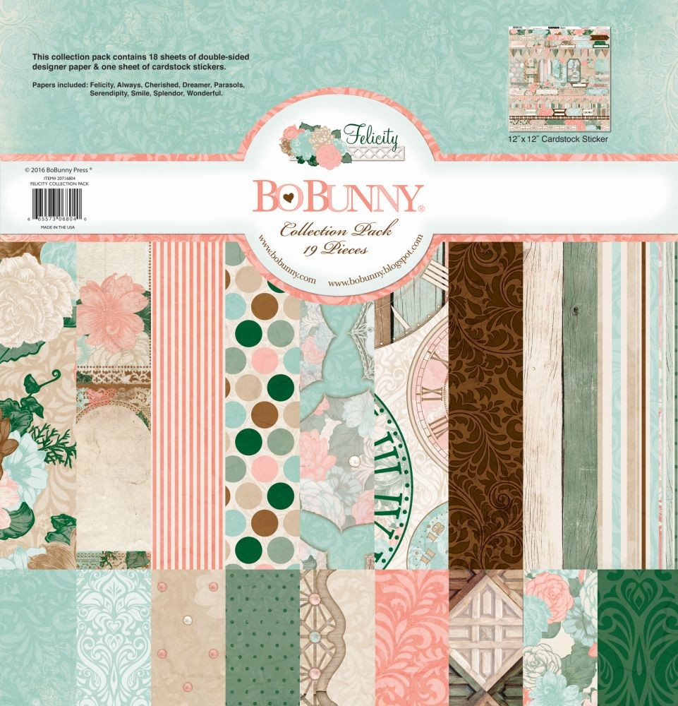 Bo Bunny Felicity 12x12 Collection Pack