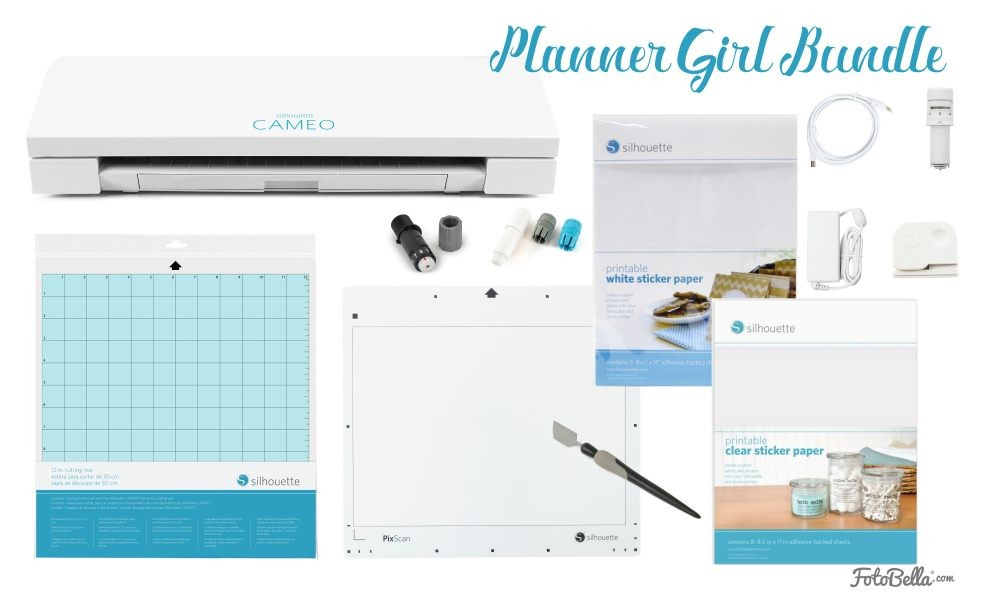 Silhouette America Silhouette CAMEO 3 - Planner Girl Bundle