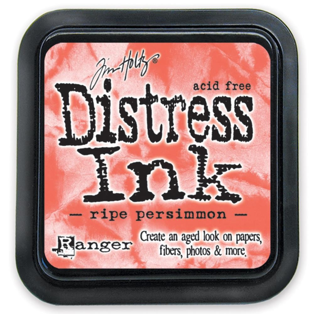 Ripe Persimmon - Tim Holtz Distress Ink Pad by Ranger