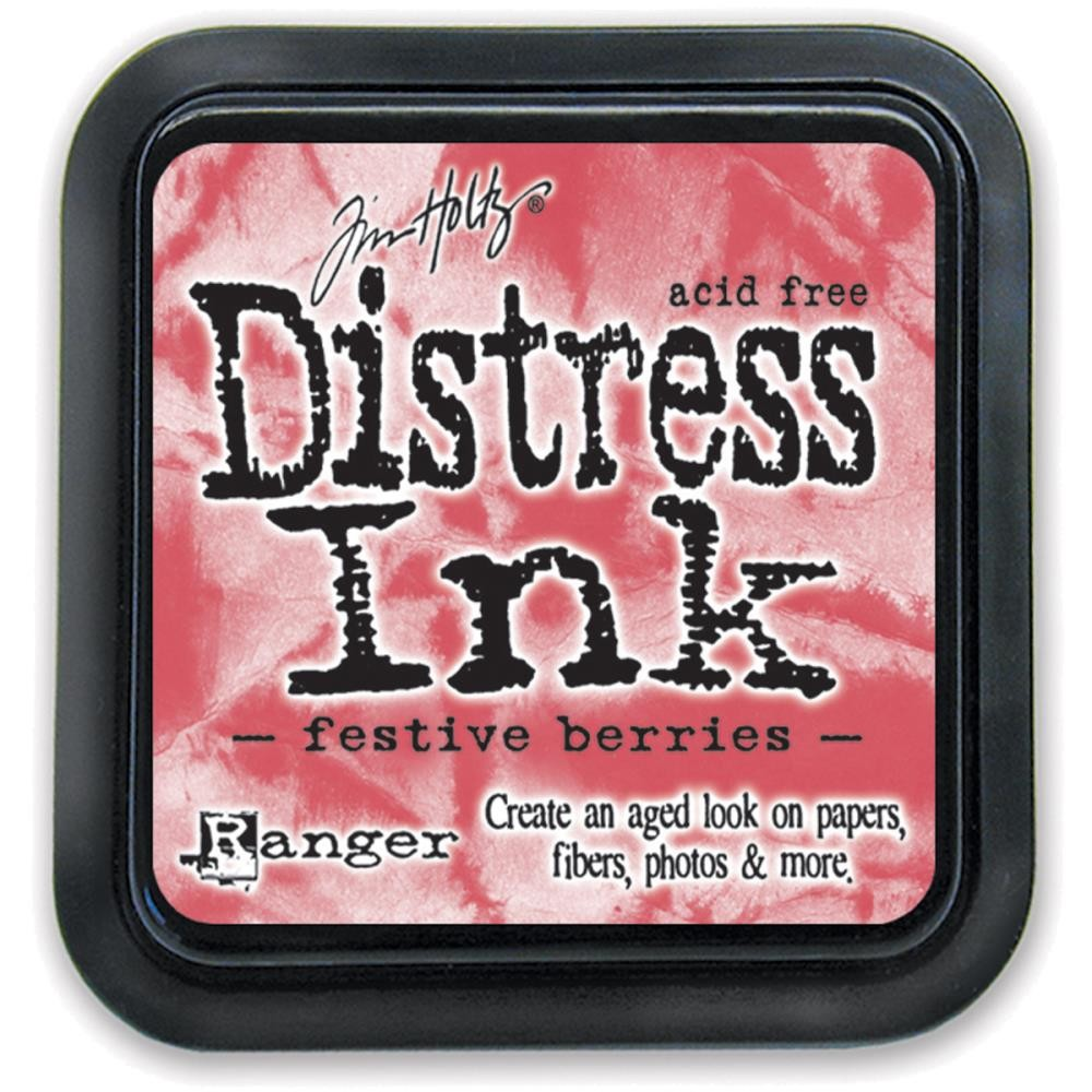 Festive Berries - Tim Holtz Distress Ink Pad by Ranger