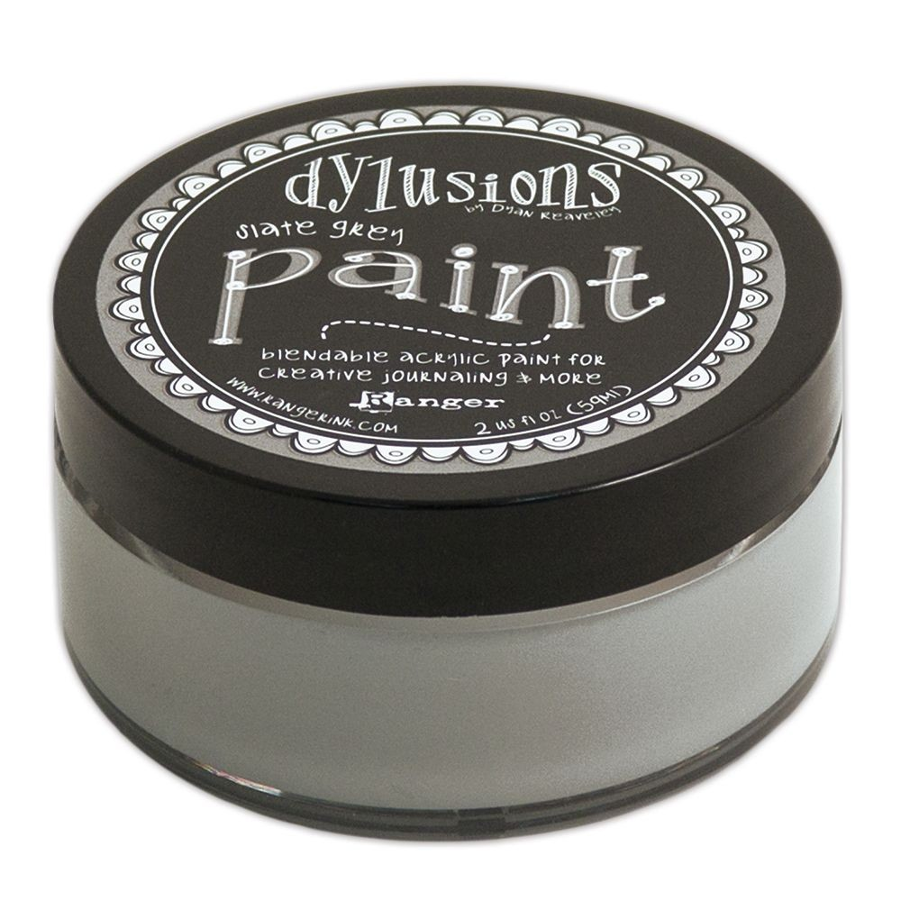 Ranger Dyan Reaveley's Dylusions Paint 2oz - Slate Grey