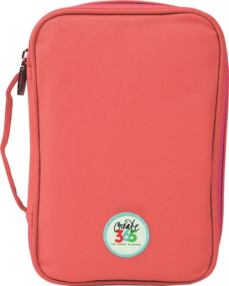 Me & My Big Ideas Create 365 The Happy Planner Happy Pen Case, Salmon
