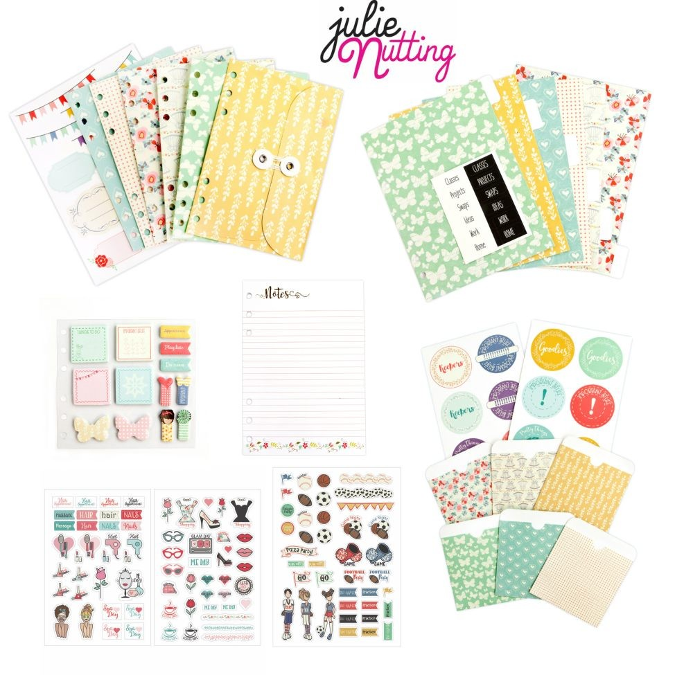 Prima Marketing Julie Nutting Planner Bundle - Summer 2017 Embellishments