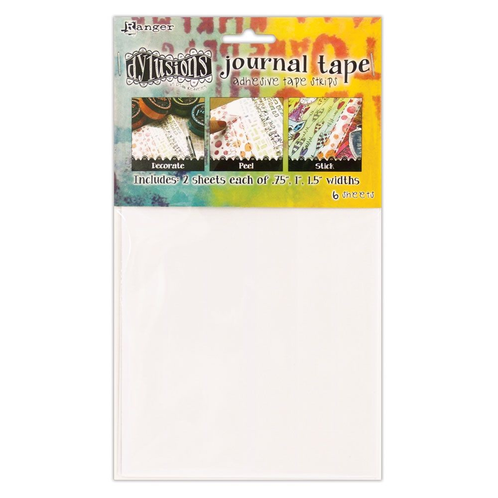 Ranger Dylusions Journal Tape Strips